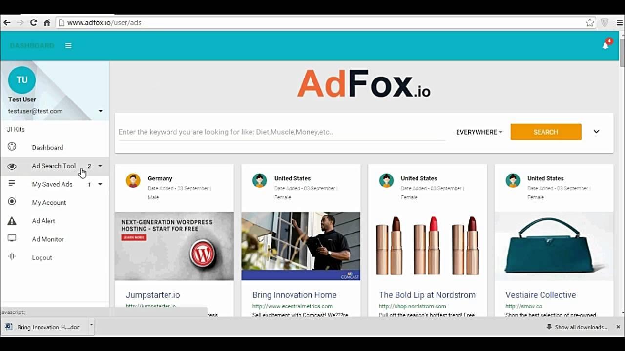 What is Adfox.io?
